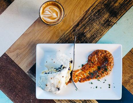 Powerfrühstück » Burritos mit roten Bohnen