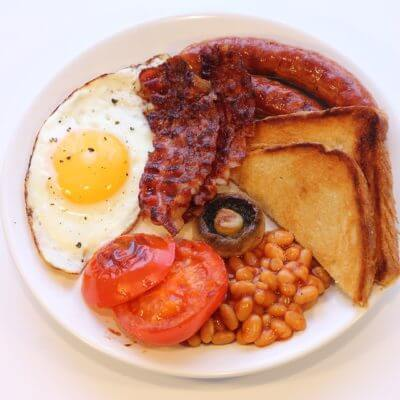 Englisches Traditionsfrühstück