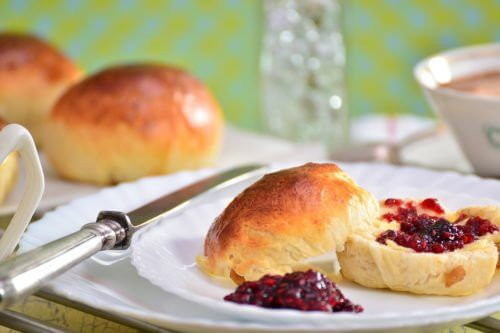 Scones mit Sour Cream
