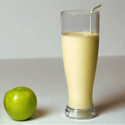 Apfel-Mangold-Smoothie
