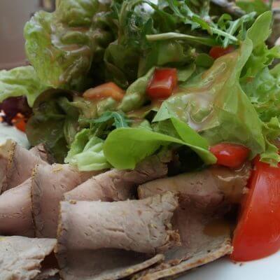 Roastbeefsandwich mit Radicchio