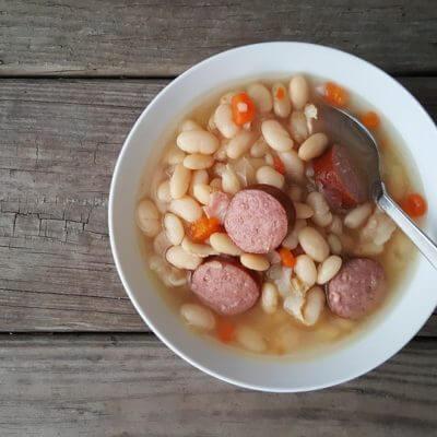 Bohnensuppe serbische Art