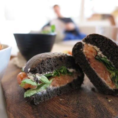 Garnelen Sandwich
